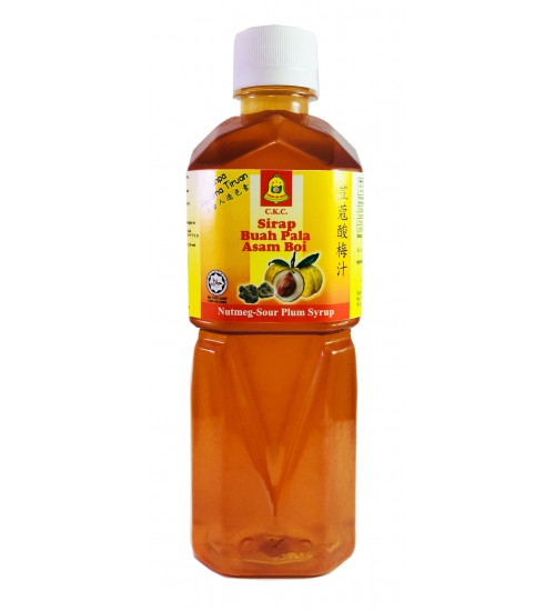 Nutmeg Sour Plum Syrup, 500ml