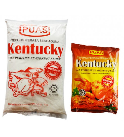 'Kentucky' All-purpose Seasoning Flour (Original Recipe), 1kg, 200g